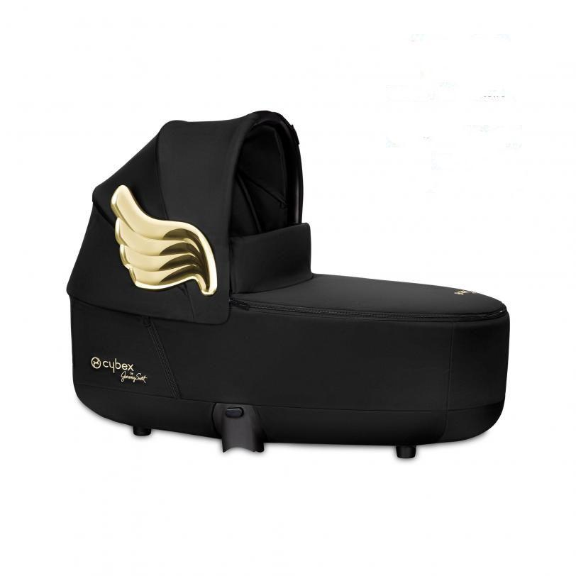 Люлька Priam Lux Carry Cot by Jeremy Scott Wings black