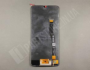 Дисплей Samsung M205 black m20 2019 (GH82-18682B) сервисный оригинал (без рамки), фото 2