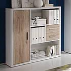 Книжный шкаф из массива дерева 022, фото 4
