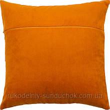 Обороты для подушек ТМ Чарівниця VB310 Апельсин (бархат)