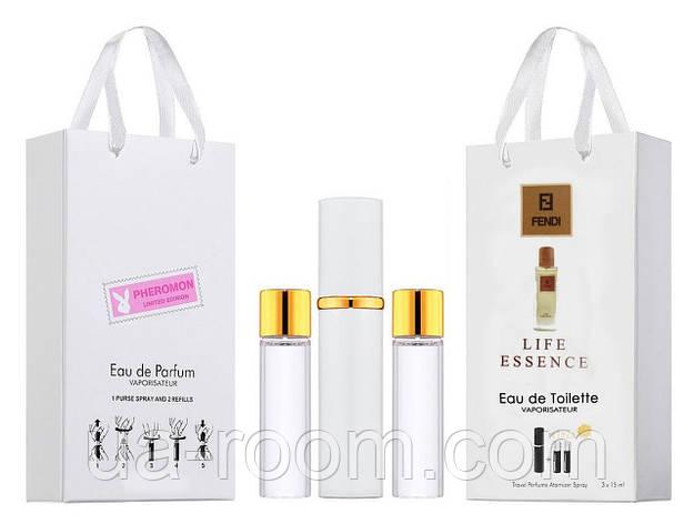 Мини-парфюм мужской Fendi Life Essence, 3х15 мл, фото 2