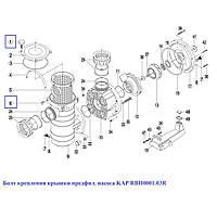Болт крепления крышки предфил. насоса KAP RBH0001.03R