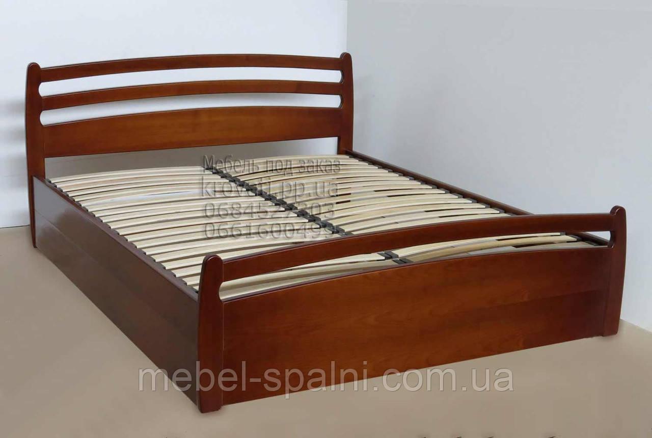 """Кровать в Белой Церкви деревянная с подъёмным механизмом двуспальная """"Елена"""" kr.el7.1"""
