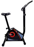 Велотренажер магнитный 7FIT Titan 3130B вертикальный для дома (магнітний велотренажер для дому)