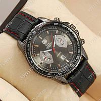 Часы мужские наручные Tag Heuer quartz Grand Carrera Calibre17 Black17 Black, фото 1