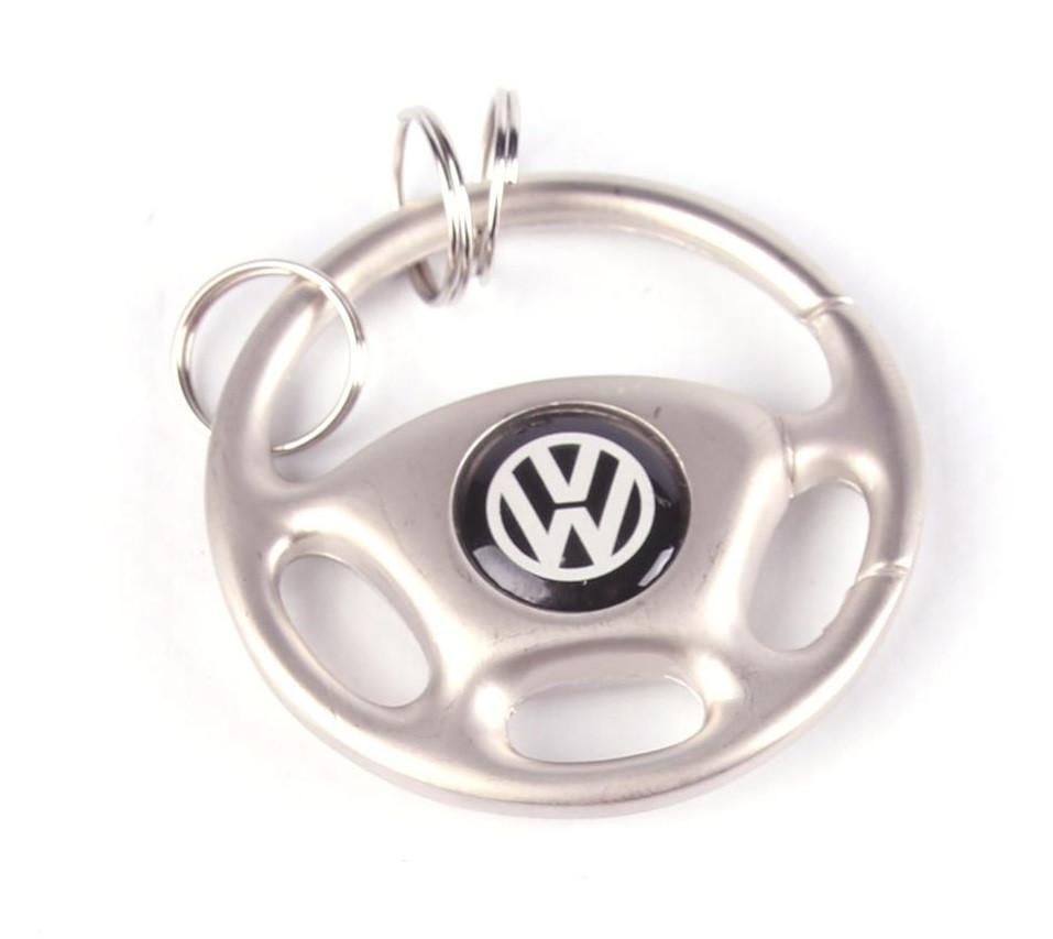 Брелок для ключів кермо Volkswagen/VW (металевий) AUTOTECHTEILE