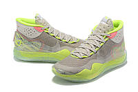 Мужские Баскетбольные кроссовки Nike KD  12(Grey/green), фото 1
