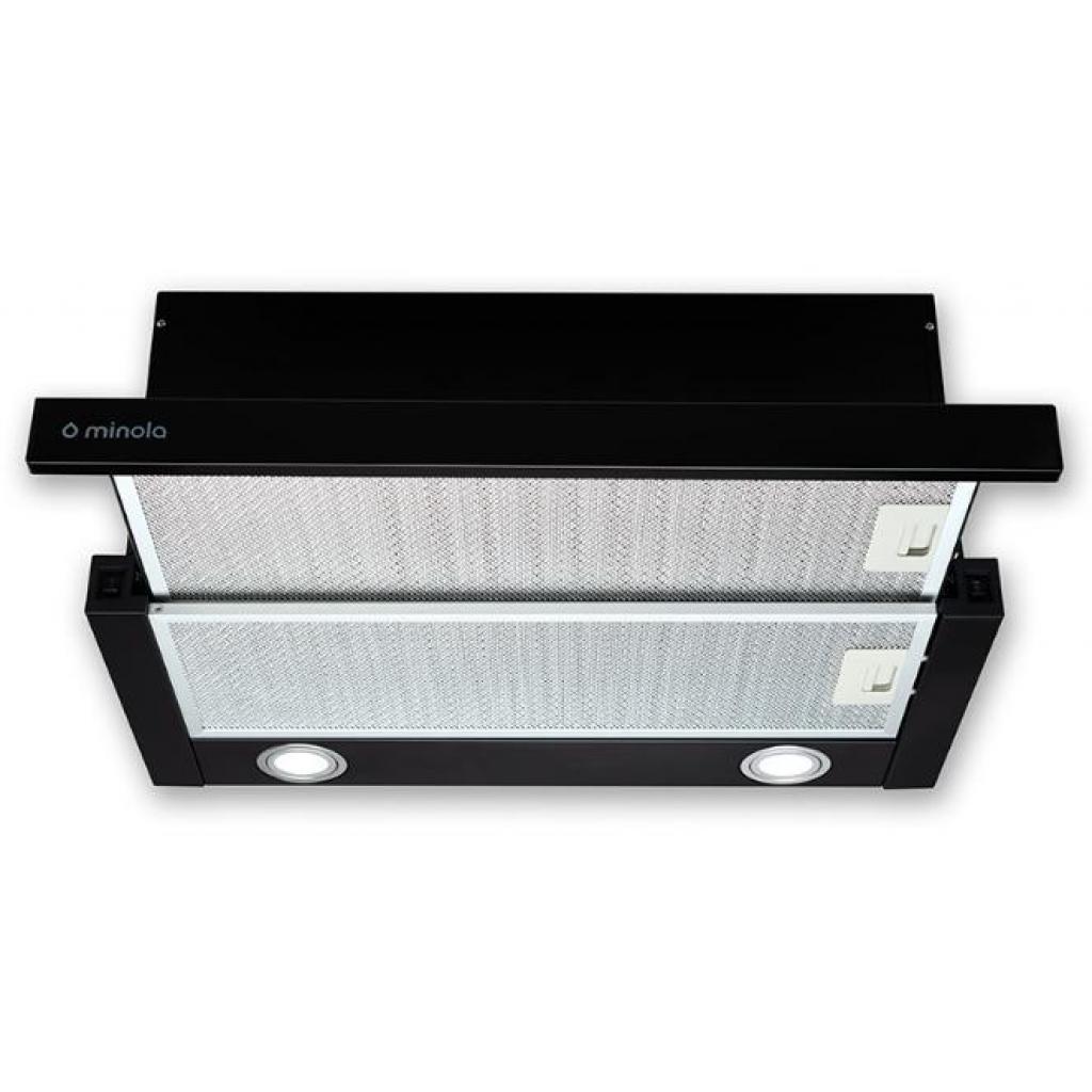Вытяжка кухонная MINOLA HTL 6612 BL 1000 LED