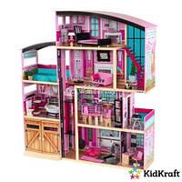 Кукольный домик.Домик для кукол барби премиум-класса - Особняк KidKraft Shimmer 65949 Residence