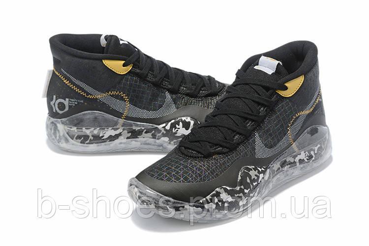 Мужские Баскетбольные кроссовки Nike KD  12(Black/white)