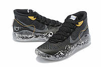 Мужские Баскетбольные кроссовки Nike KD  12(Black/white), фото 1
