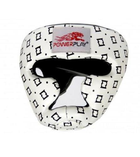 Боксерський шолом тренувальний PowerPlay 3044 Білий S