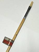 Кисть плоская №6 , щетина 8 мм