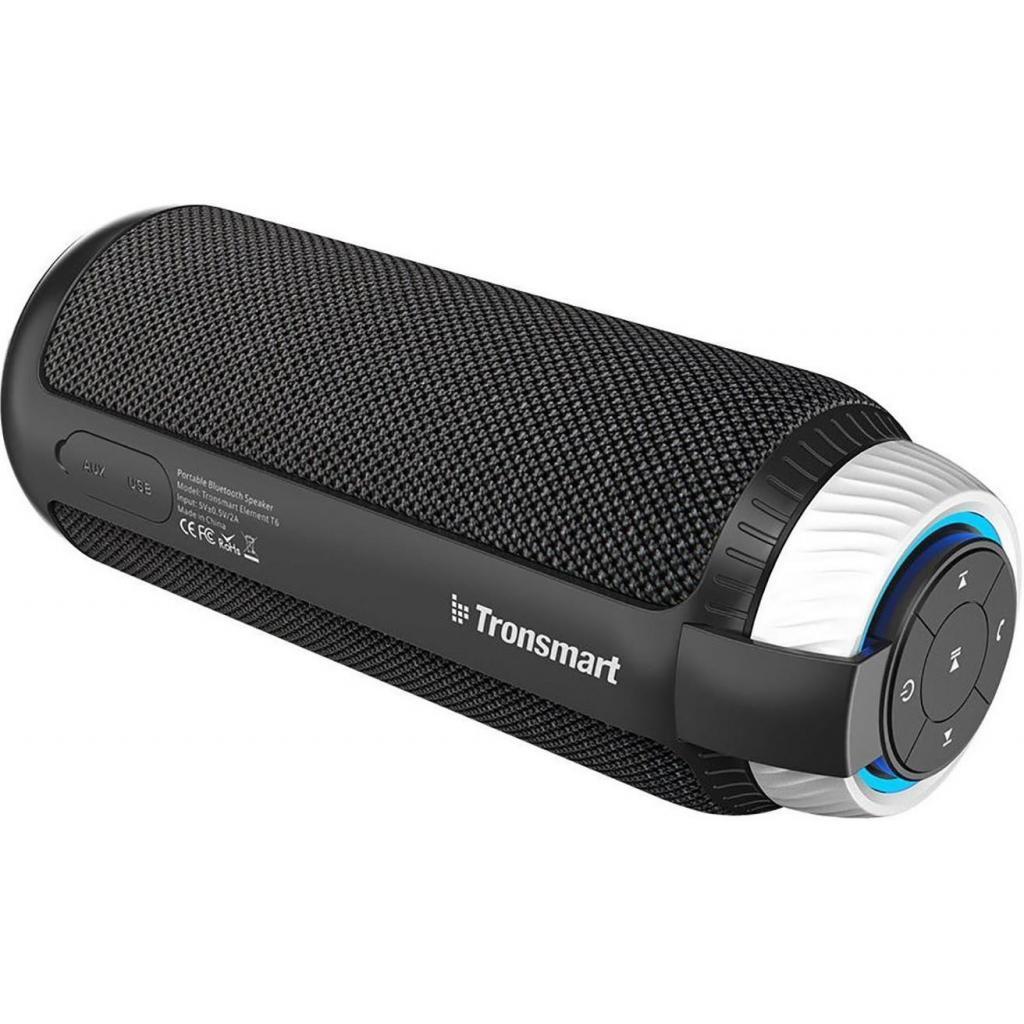 Акустическая система Tronsmart Element T6 Portable Bluetooth Speaker Black (235567)
