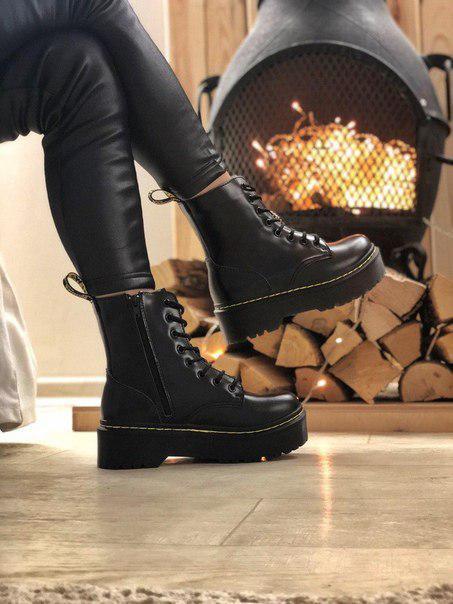 Женские ботинки Dr. Martens натуральная кожа