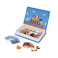 Развивающая игрушка Janod Магнитная книга Транспорт (J02715), фото 1