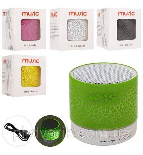 Аксесуари MK 2686 () Портат.Колонка Для Телеф,6см,Акк, Bluetooth,Св,USB,Мікс Кол,Кор,6,5-8-6,5 з