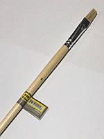 Кисть плоская №8 , щетина 10 мм