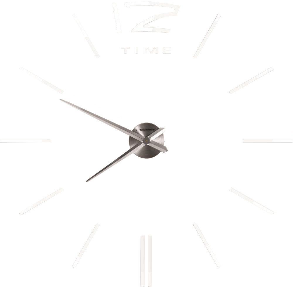 Часы настенные Esperanza EHC007W San Marino 3D, белые
