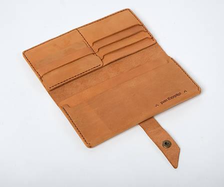 Кожаный кошелек Promo Песочный, фото 2