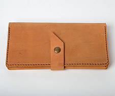 Кожаный кошелек Promo Песочный, фото 3