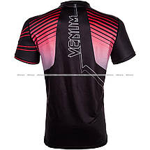 Футболка Venum Sharp 3.0 Dry Tech T-shirt Black Red, фото 2