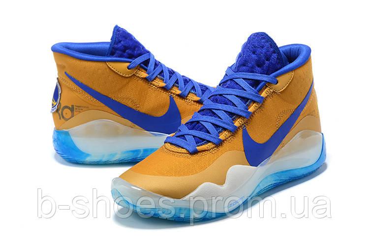 Мужские Баскетбольные кроссовки Nike KD  12(Orange/blue)