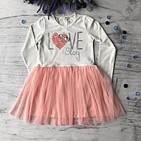 Детское платье на девочку Breeze 184 . Размер 116 см, 128 см, 134 см, 140 см, 152 см, фото 1