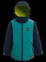 Горнолыжная куртка Burton Game Day (Green-Blue Slate/Dress Blue) 2020