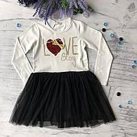 Детское платье на девочку Breeze 185 . Размер 116 см, 128 см, 134 см, 140 см, 152 см, фото 1