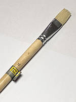 Кисть плоская №12 , щетина 18 мм