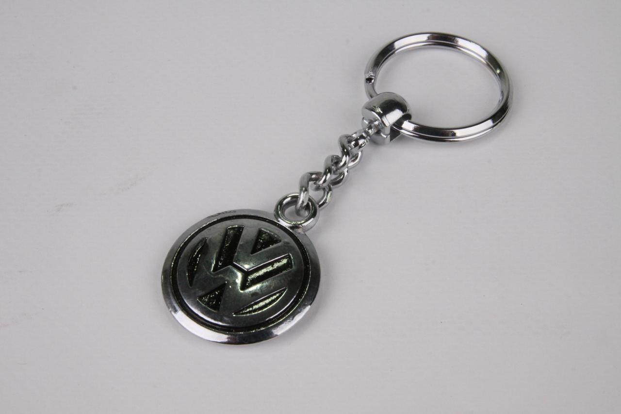 Брелок для ключей Volkswagen/VW (металлический/хромированый) AUTOTECHTEILE
