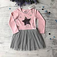 Детское платье на девочку Breeze 187 . Размер 140 см, 152 см, фото 1