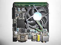 ASRock B75M-ITX(Mini-ITX) Socket 1155 + Intel Core-i5 2400(4x3.1GHz-3.4GHz) Box + 4Gb DDR3 - в идеале!!!