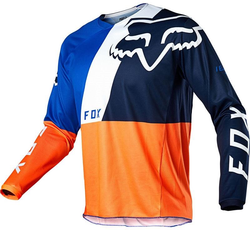 Мото джерси Fox 180 Lovl Jersey оранжевый/синий, XL