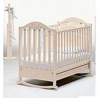 Кроватка детская 125х65 см DIDI IVORY, цвет слоновая кость, бук