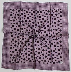Платок Eyfel Амалия сиреневый в фиолетовый горошек 208001