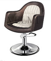 Кресло клиента Otto VM827, гидравлика хром, фото 1