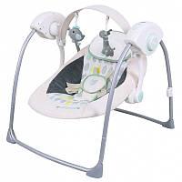 Детское кресло-качели Baby MixTY-019D Cream