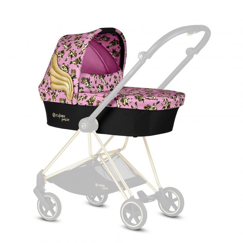 Корзина Priam Carry Cot JS Cherub Pink pink