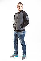 Кофта, толстовка мужская утепленная (на флисе) на молнии высокого качества брендовая ENVYME, Украина(ARBER)