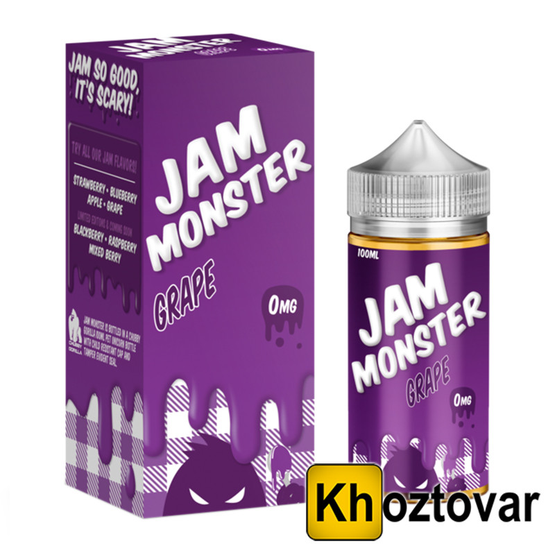 Жидкость для вейпа Jam monster | 100 ml