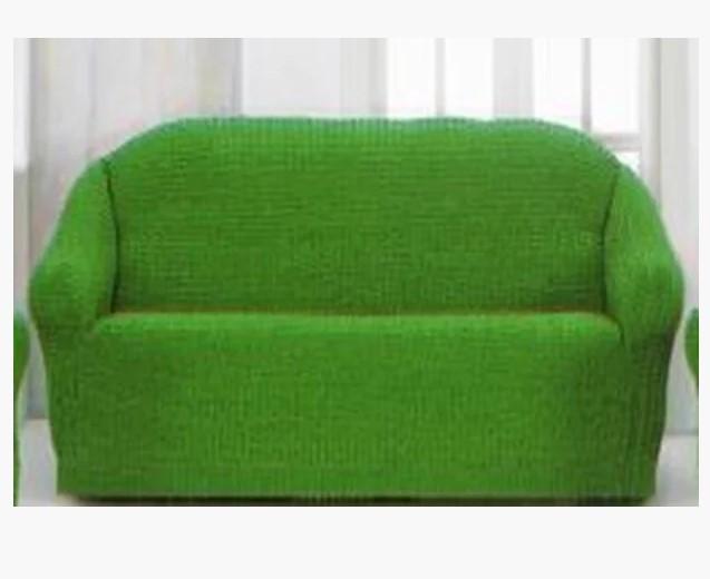 Накидка на диван №6 Зеленый цвет