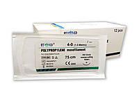 Поліпропілен RT-med USP 4/0 (EP 1,5) з звор ріж. голкою 19мм 3/8 кола