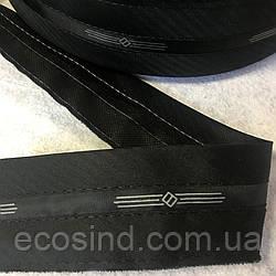 Корсажная лента для брюк, черная (6-О-024)
