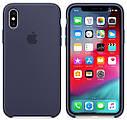 Чехол (Silicone Case) для iPhone XR Original Midnight Blue, фото 2