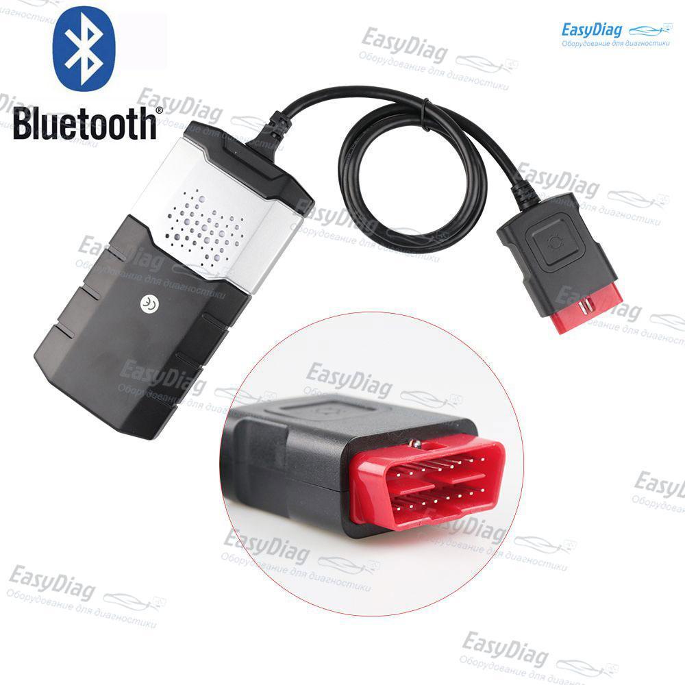 Delphi DS150E V3.0 Bluetooth Делфи двухплатный, зеленая плата