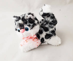 Милая плюшевая игрушка кошка музыка Мяу-мяу 15х12 см