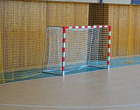 Ворота мини-футбольные или гандбольные разборные 2500х1700 c полосами