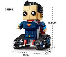 Конструктор Супер Герои Супермен на Радио Управлении Square Headed (Аналог Lego) 354 деталей